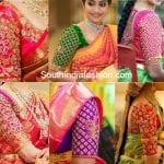 8 Most Trending Silk Saree Blouse Designs