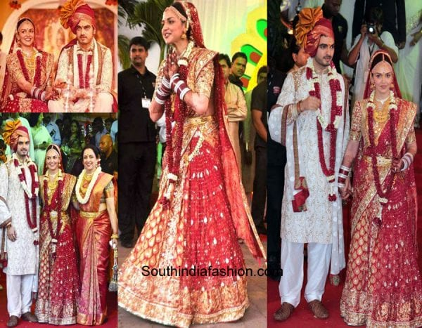 Celebrity Wedding Dresses In India 4