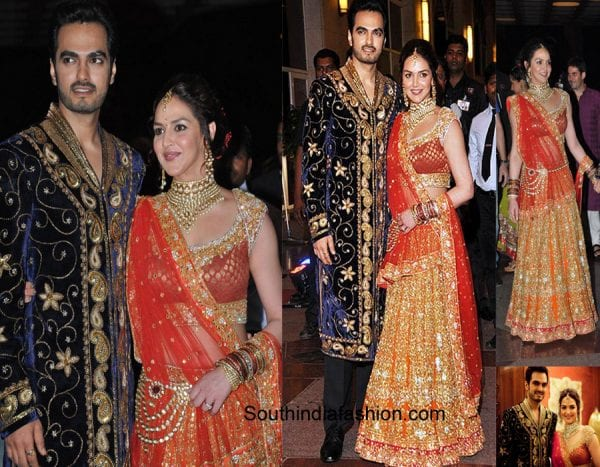 4 Indian Celebrity Wedding Dresses To Die For South India Fashion