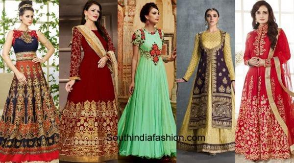 Trendy-Engagement-Dresses-for-Indian-Brides