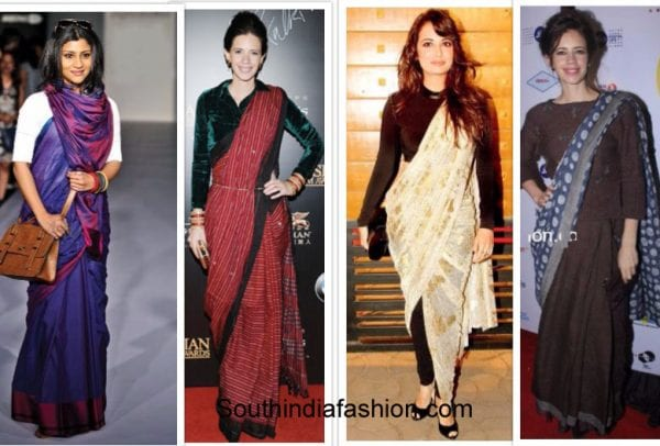 5 Different Ways To Style Your Indian Wear This Winter South India Fashion