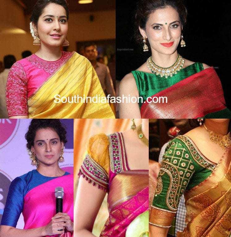 must have blouse designs for kanjeevaram sarees