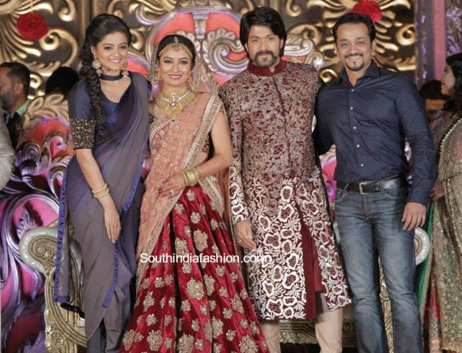 Yash and Radhika Pandit's Wedding, Reception and Mehendi Photos