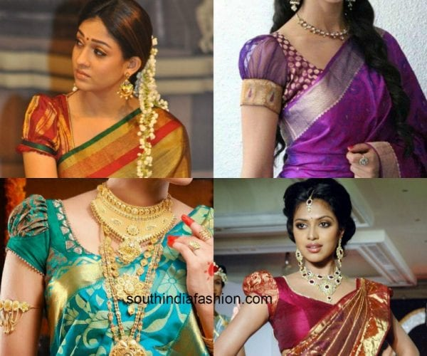 must have blouse designs for kanjeevaram sarees