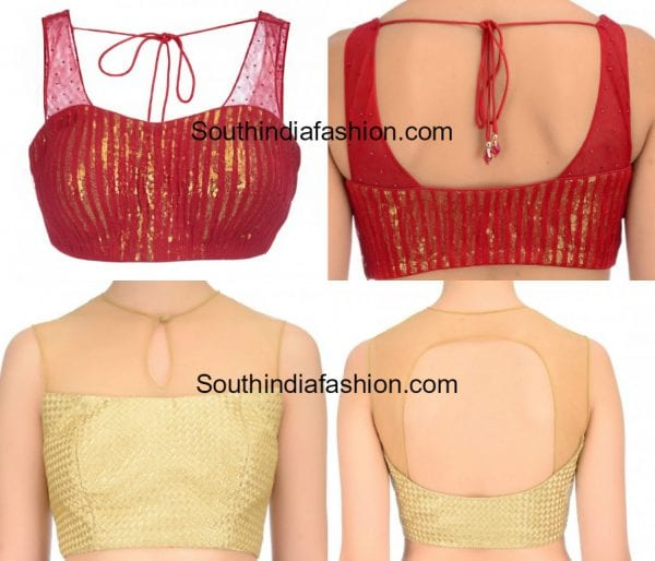 sleeveless-net-blouse-designs