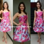 Tamannaah Bhatia in Monique Lhuillier