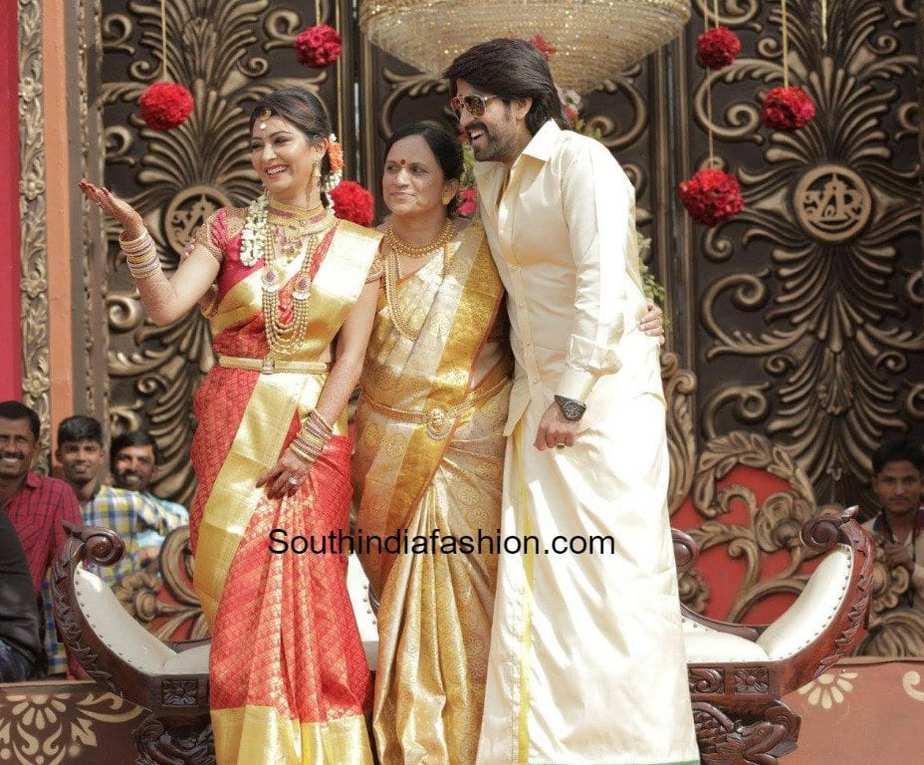 Yash And Radhika Pandits Wedding Reception And Mehendi Photos
