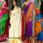 Silk Saree Options for Sankranti