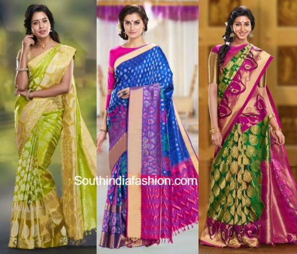 LATEST SILK SAREES 600x513