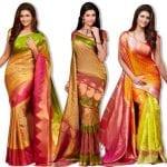 Pure Kanchipuram Handloom Silk Sarees