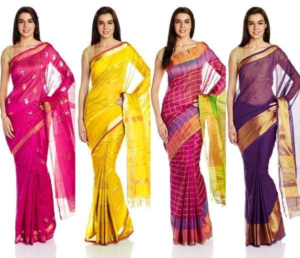 Venkatagiri Handloom Silk Sarees