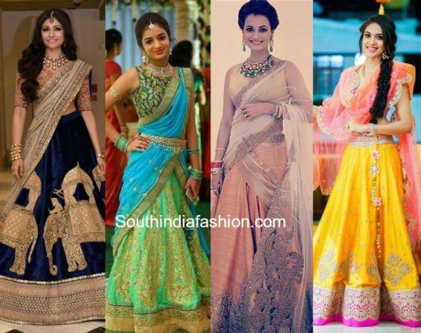 bridal-half-sarees