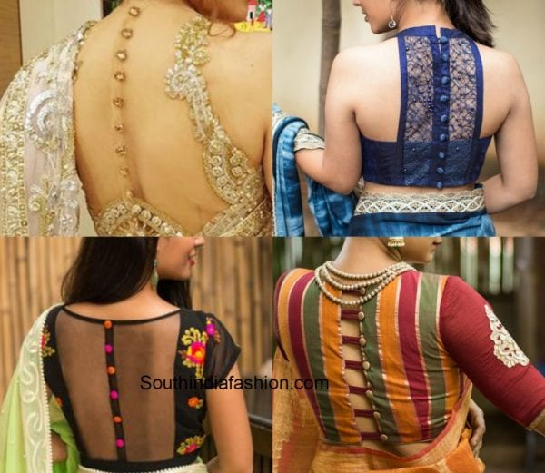 Blouse Back Designs