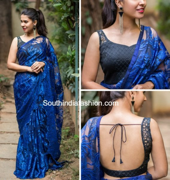 designer-blouse-lace-saree