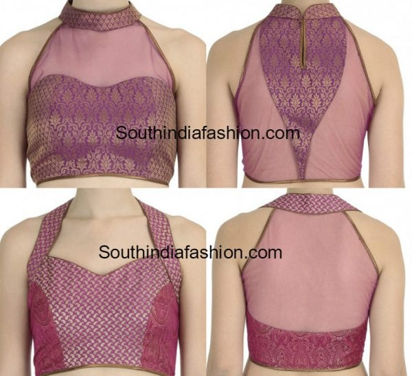 Indian Halter Neck Blouse 82