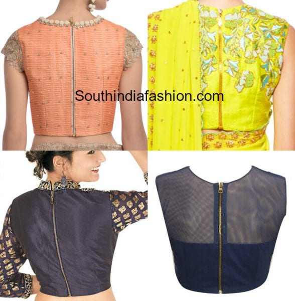 high-neck-blouse-with-zip-on-the-back
