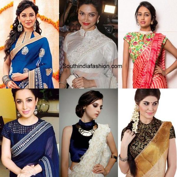 high-neck-saree-blouse-designs-for-wedding