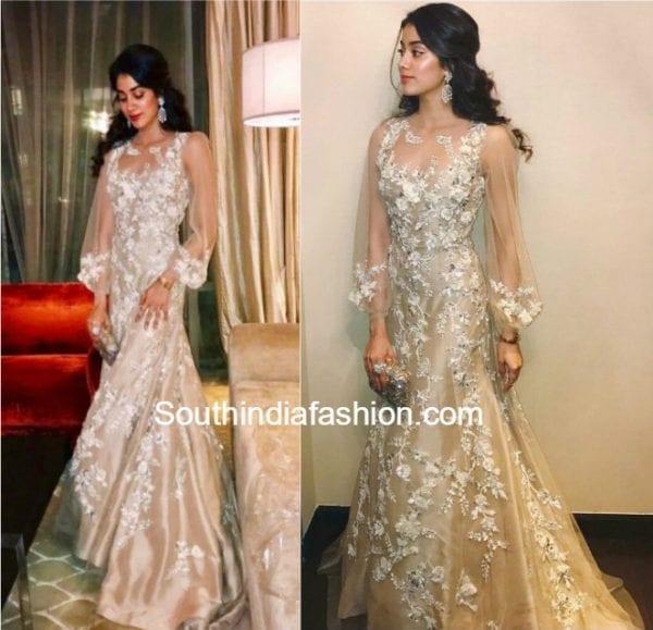 jhanvi-kapoor-manish-malhotra-gown-keshav-reddy-wedding