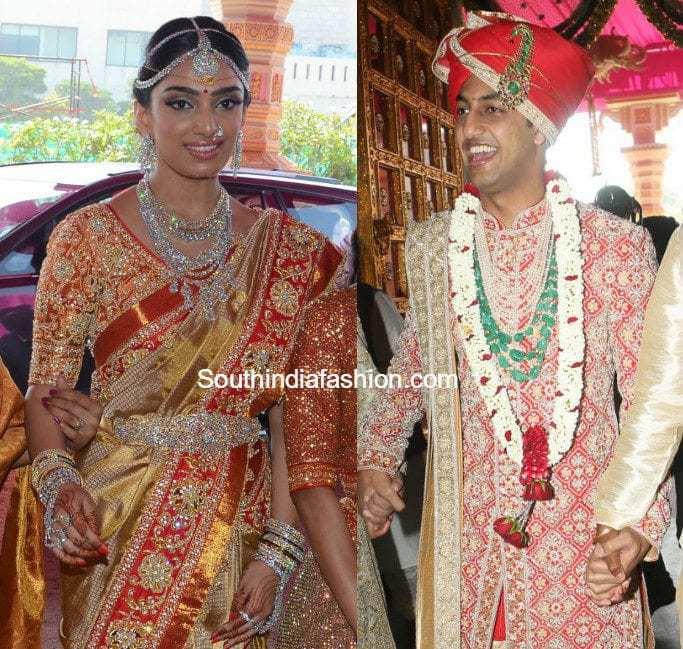 G V Keshav Reddy And Veena Reddy's Wedding