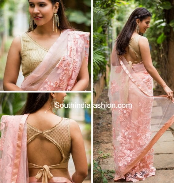 lace saree designer blouse 568x600