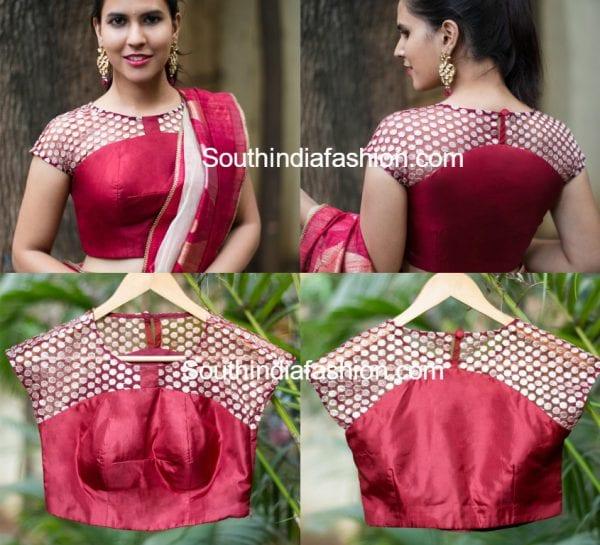 latest-net-blouse-designs