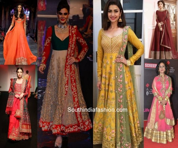 106cb0c585 6 Lohri Outfits Ideas for Newly Wed Punjabi Bride – South India Fashion