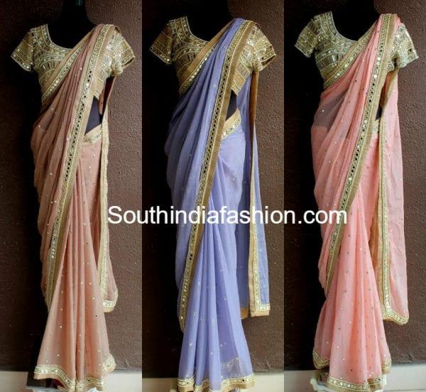 mirror work designer sarees priti sahni 600x552