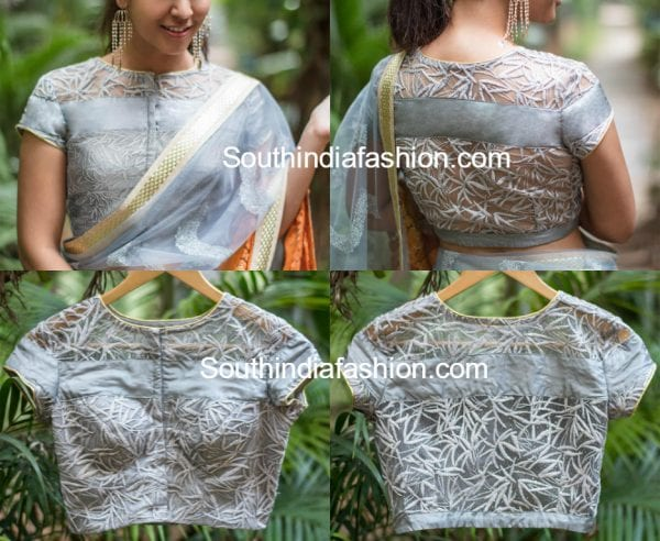 net-blouse-designs