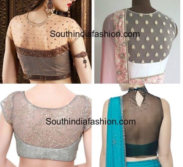 net-blouse-designs-for-sarees