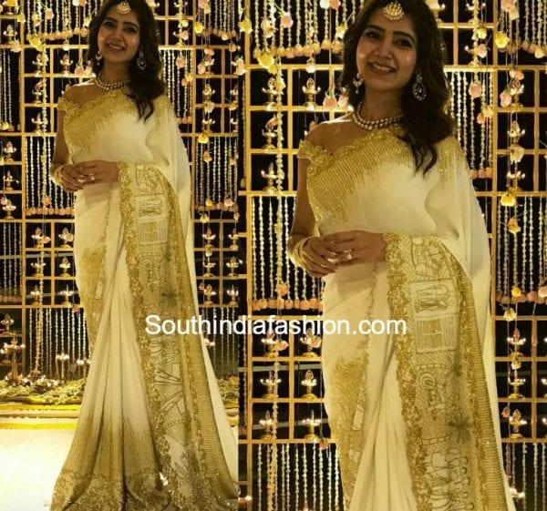 samantha-engagement-saree-koecsh