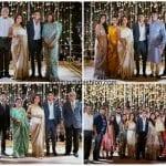 Naga Chaitanya and Samantha's family photos at their engagement
