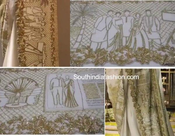 samantha-prabhu-love-story-saree-engagement