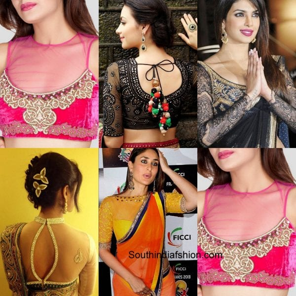 sheer-saree-blouse-designs-for-wedding