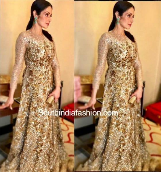 sridevi-kapoor-manish-malhotra-gown-keshav-reddy-wedding