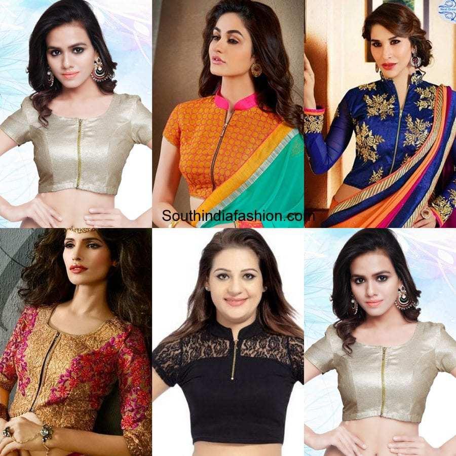1df93ec35fbda 6 Awesome Saree Blouse Designs for Weddings – South India Fashion