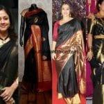 Must Have Black Kanjeevaram Sarees