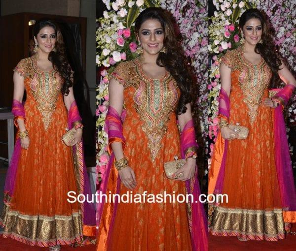 aarti chabria neil nitin wedding reception 600x510