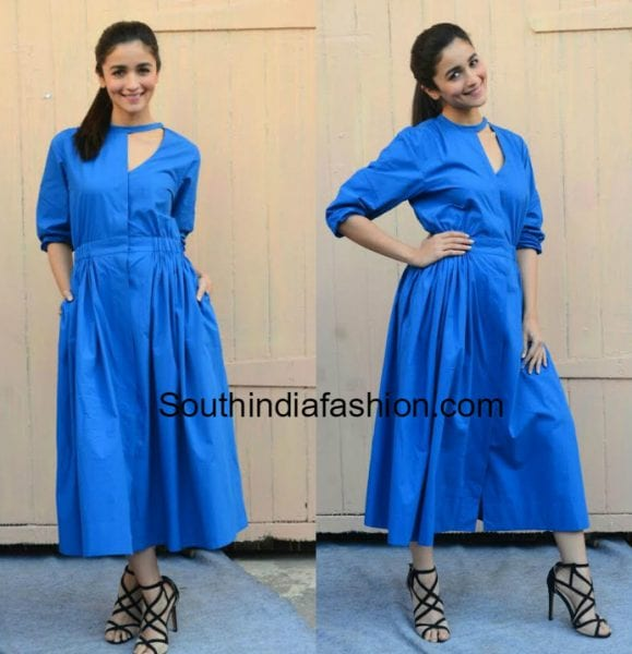 alia bhatt blue dress badrinath ki dulhania romotions 579x600