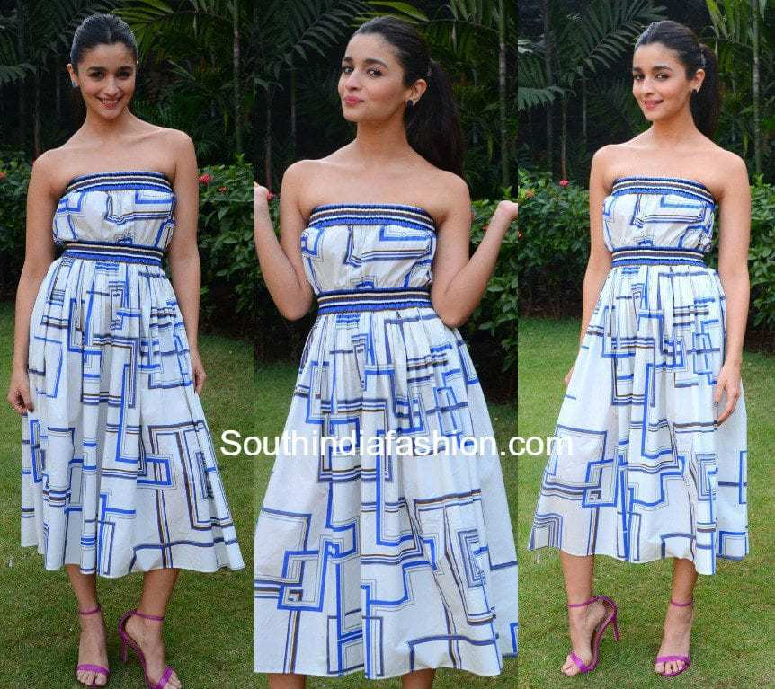 e8aea4ff07 Alia Bhatt in Martin Grant – South India Fashion