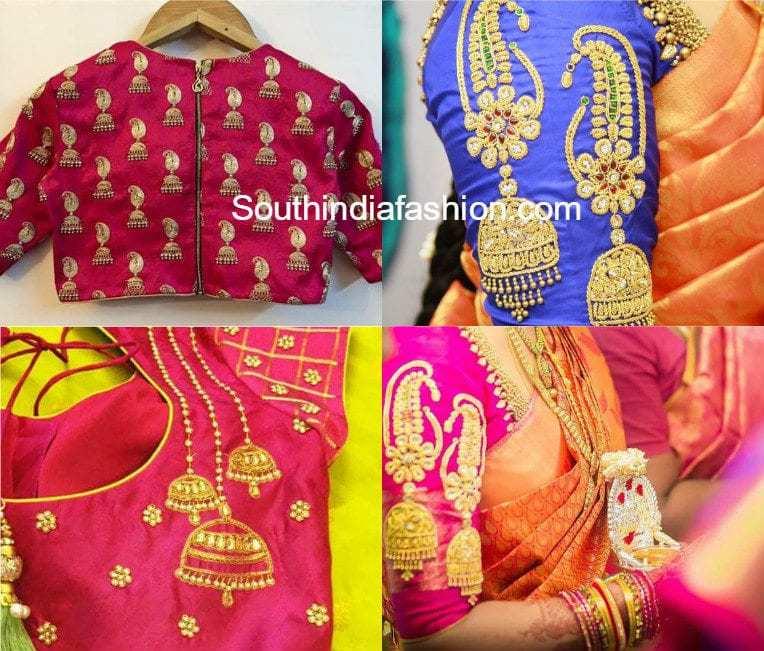 South india fashion blouse 76