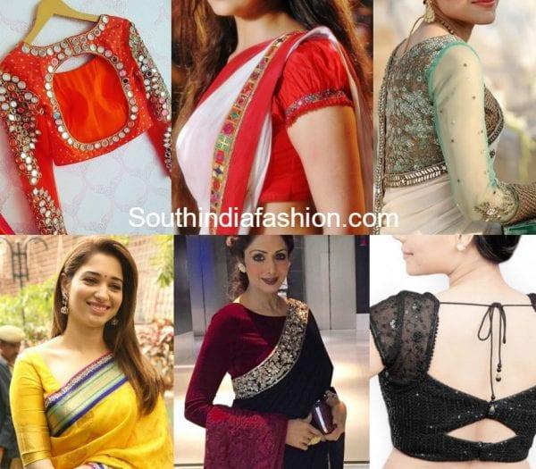 latest saree blouse designs 2017 600x525
