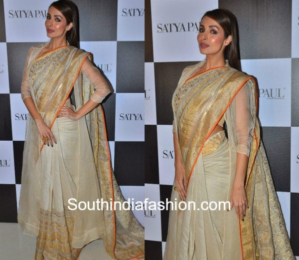 malaika-arora-khan-satya-paul-saree