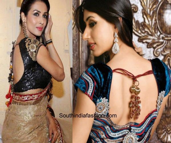 saree-blouse-patterns-dori-blouse