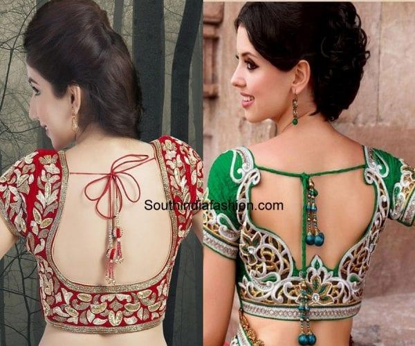 saree-blouse-patterns-dori-blouse-1