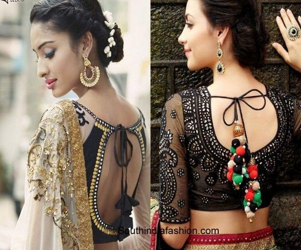 saree-blouse-patterns-dori-blouse-2