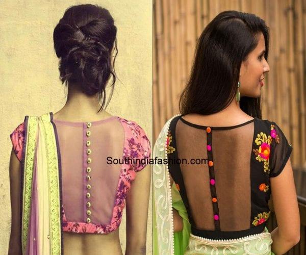 modern-saree-blouse-designs-sheer-blouse