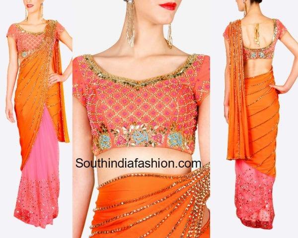 prestitched pallu saree 600x480