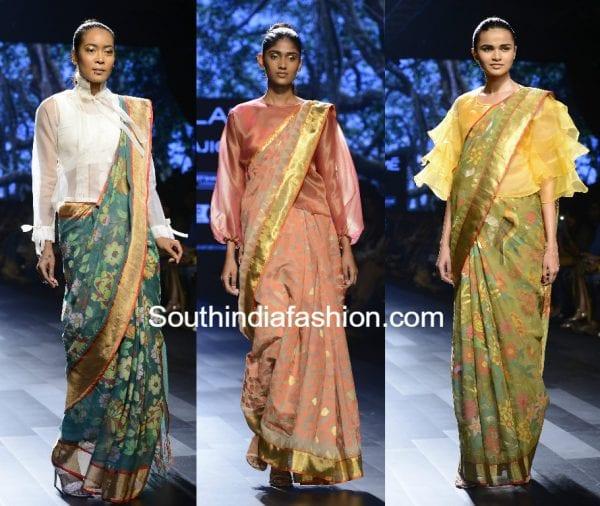 sailesh-singhania-handloom-sarees-lakme-fashion-week-summer-resort