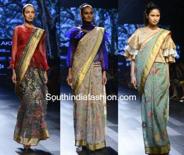sailesh-singhania-sarees-lakme-fashion-week-summer-resort