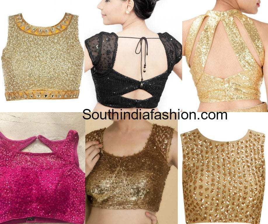 Sequined Blouses